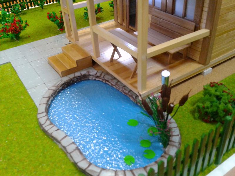 Бассейн декоративный в сад своими руками 522