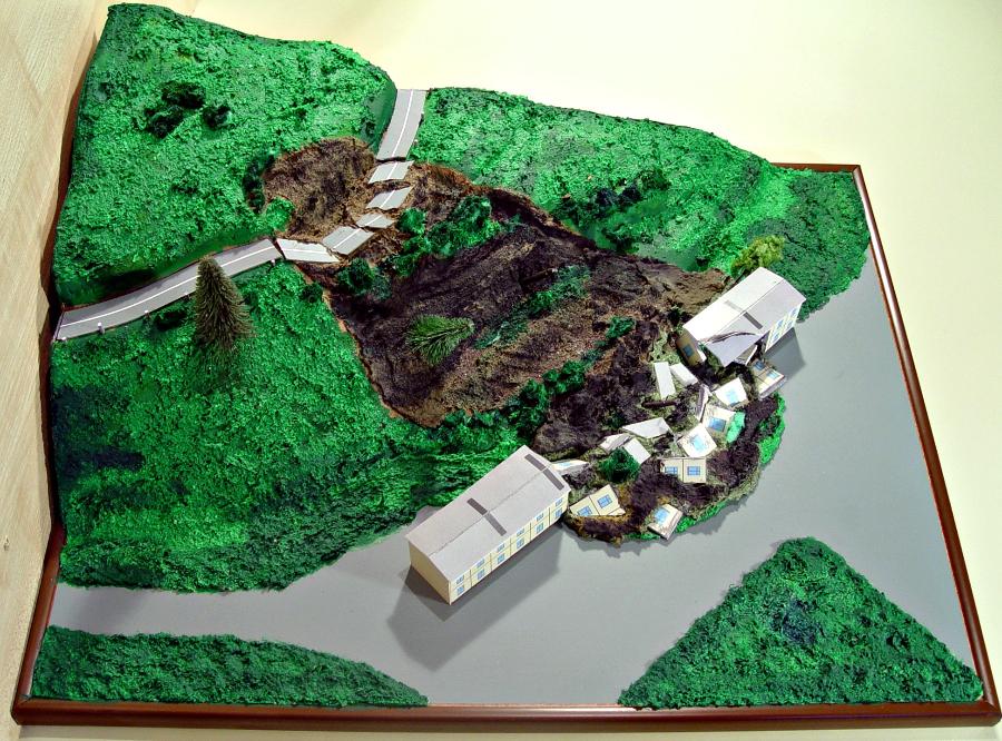 макет землетрясения своими руками