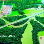Как сделать макет на местности